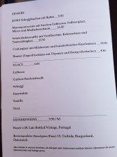 Restaurant Josef, Zurich