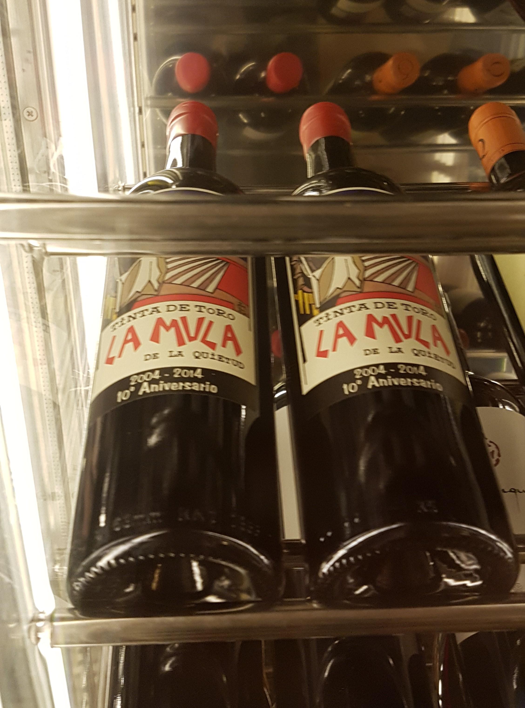 La Mula red wine