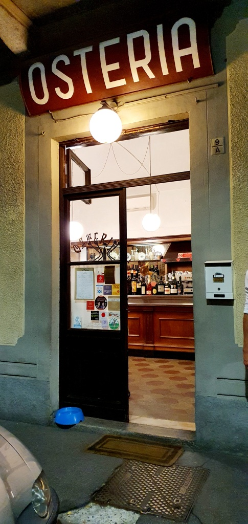 Osteria Antiche Sere Entrance