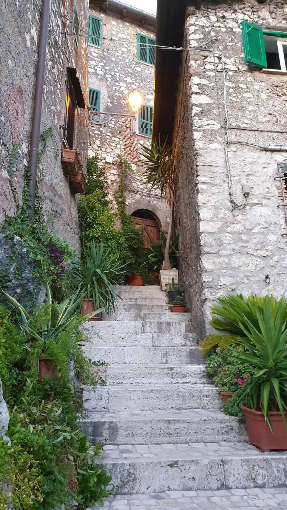 Streets of Olevano Romano
