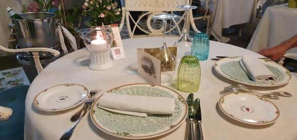 Table setting, L'Antica Trattoria, Sorrento