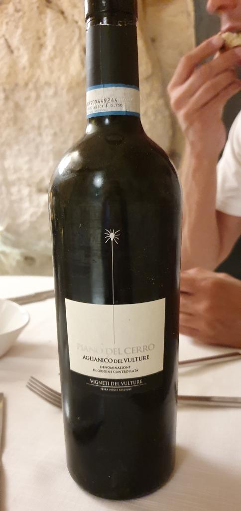 Il vino Piano del Cerro