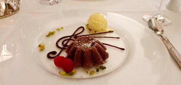 Il Gattopardo Zurich chocolate tartlet