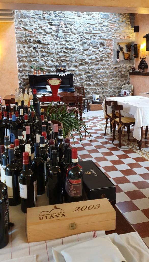 Trattoria Visconti - inside the restaurant