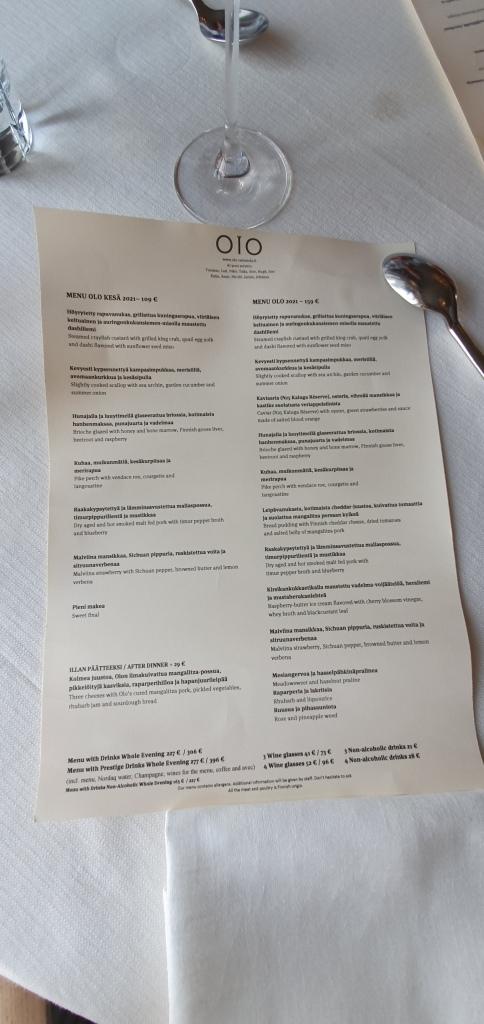 The magic menu